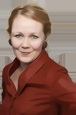 Portrett av Marte Storbråten Ytterbøe