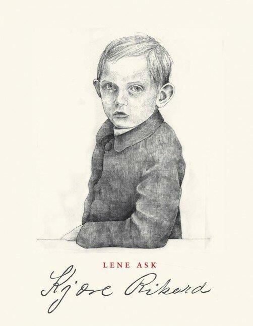 Coverbilde av tegneserieromanen Kjære Rikard av Lene Ask