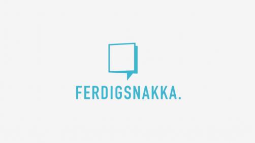 Ferdigsnakka, designet av Marte Veys Berg og Mette Landsem. Gis ut av Fanfare AS.