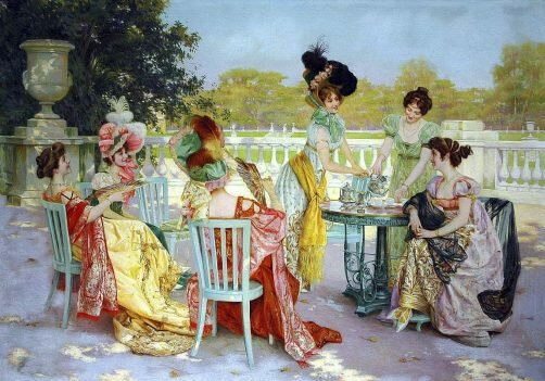 Maleri av Juan Jean Sala Gabriel fra 1867.